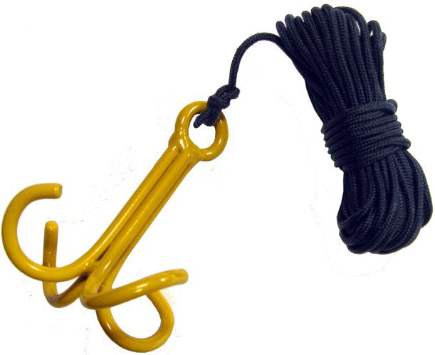 Tree saddle rope hook up